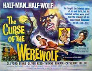 The Curse of the Werewolf Poster 1