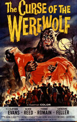 The Curse of the Werewolf Poster 2