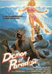 Demon of Paradise Poster