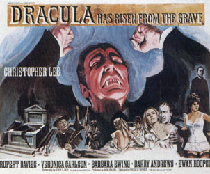 Dracula Has Risen From The Grave Poster 1