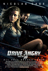 Drive Angry 3D Poster 1