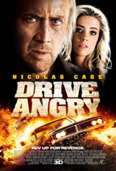 Drive Angry 3D Poster 2