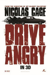 Drive Angry 3D Poster 3