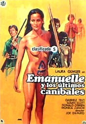 Emanuelle and the Last Cannibals Poster 1