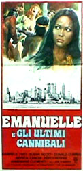 Emanuelle and the Last Cannibals Poster 2