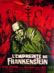 The Evil of Frankenstein Poster 2
