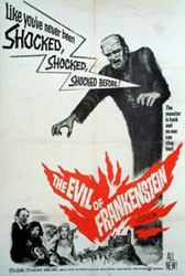 The Evil of Frankenstein Poster 3