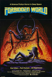 Forbidden World Poster 1