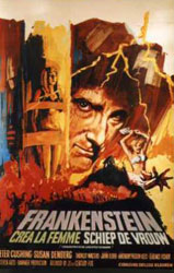Frankenstein Created Woman Poster 3