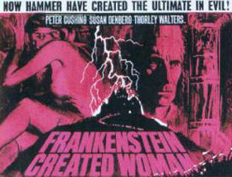 Frankenstein Created Woman Poster 4