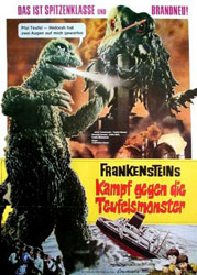 Frankenstein vs. Baragon Poster 1