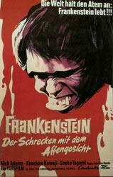 Frankenstein vs. Baragon Poster 4