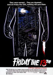 Friday the 13th Poster 1