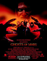 Ghosts Of Mars Poster 1