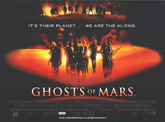 Ghosts Of Mars Poster 2
