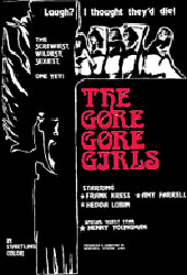 The Gore-Gore Girls Poster