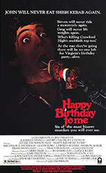 Happy Birthday to Me Poster