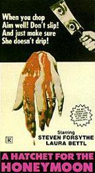 Hatchet for the Honeymoon Poster 1
