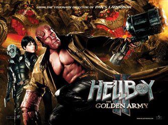 Hellboy II: The Golden Army Poster 6