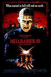 Hellraiser III: Hell on Earth Poster