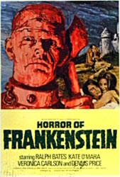 The Horror Of Frankenstein Poster 1