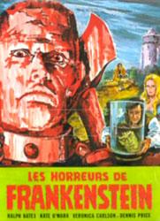 The Horror Of Frankenstein Poster 2