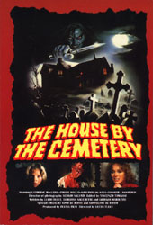 House By The Cemetery Poster 1