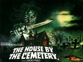 House By The Cemetery Poster 3