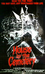 House By The Cemetery Poster 4