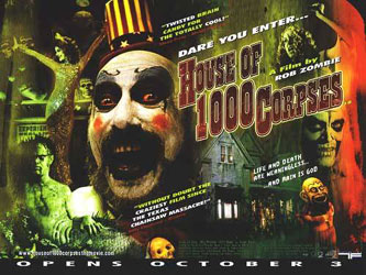 House Of 1000 Corpses Poster 2
