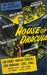 House of Dracula Poster 2