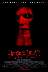 House Of The Dead Poster 2