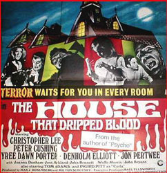 The House That Dripped Blood Poster 1