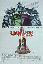 The House That Dripped Blood Poster 2