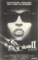 Howling II: Your Sister Is a Werewolf Poster