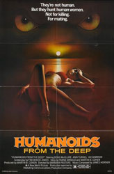 Humanoids From The Deep Poster 1