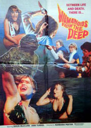 Humanoids From The Deep Poster 2