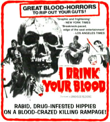 I Drink Your Blood Poster 2