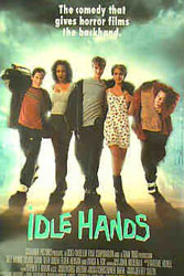 Idle Hands Poster 2