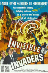 Invisible Invaders Poster 2
