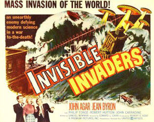 Invisible Invaders Poster 3