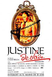 Justine de Sade Poster
