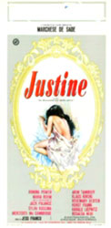 Marquis de Sade's Justine Poster 1
