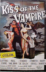 The Kiss of the Vampire Poster 1