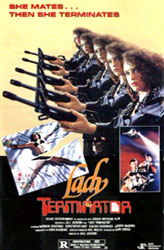 Lady Terminator Poster