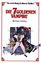 The Legend of the 7 Golden Vampires Poster 4