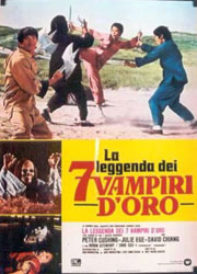The Legend of the 7 Golden Vampires Poster 5