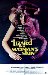 Lizard in a Woman's Skin Poster 4