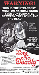 Love Me Deadly Poster 1