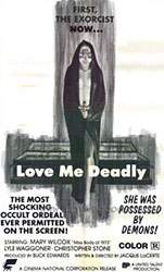 Love Me Deadly Poster 2